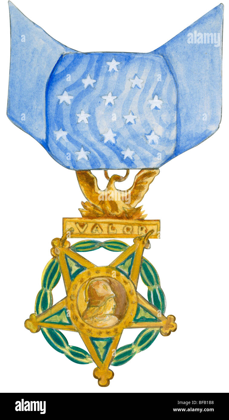 Medal of Honor (Army) - Stock Image