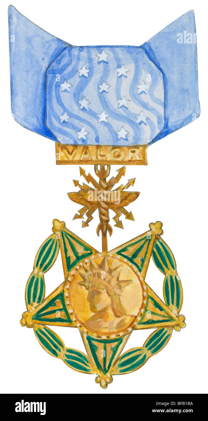 Medal of Honor (Air Force) - Stock Image