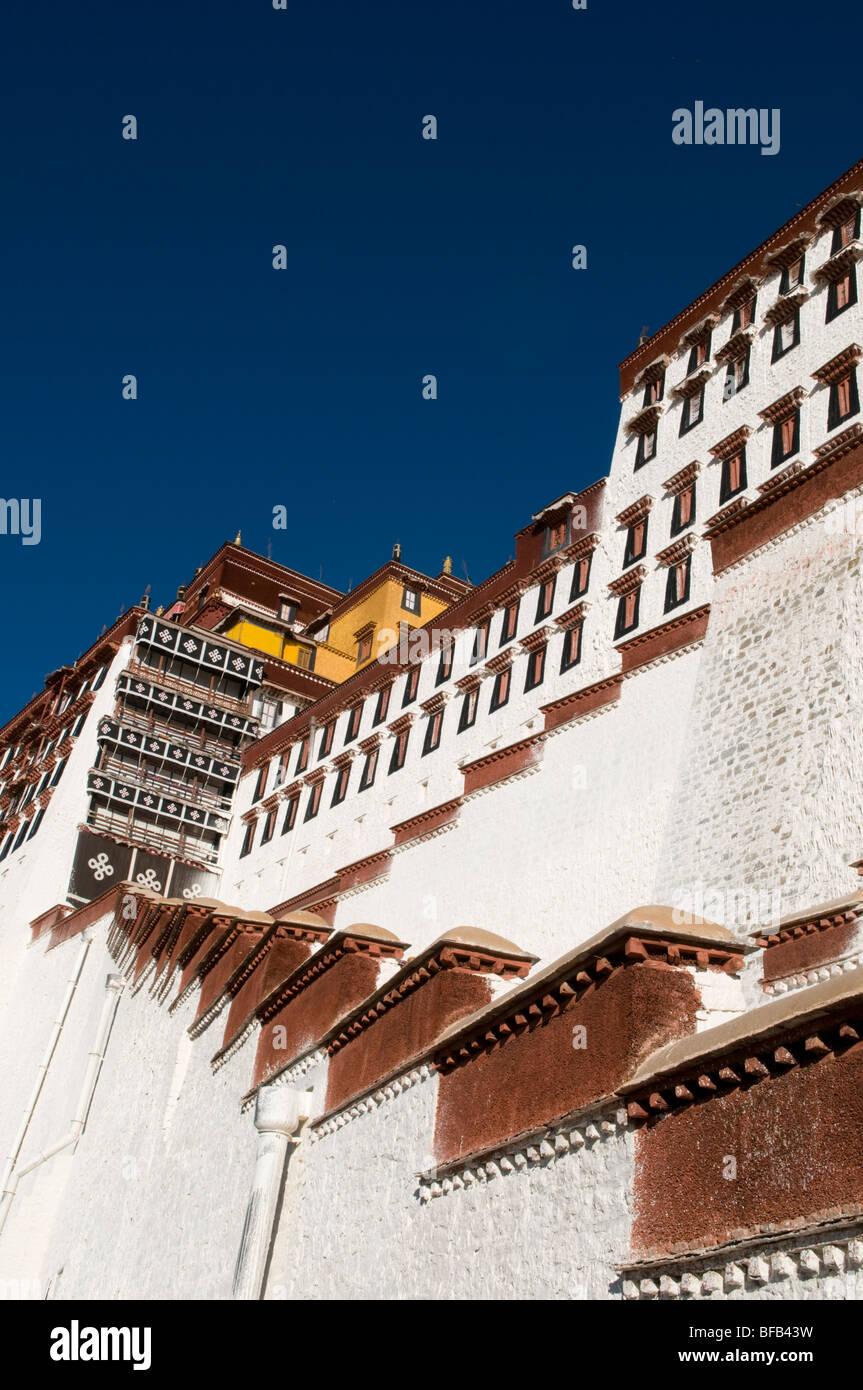 Potala Palace Lhasa Tibet - Stock Image