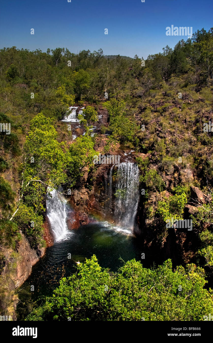 Florence falls in Litchfield National Park, Northern Territory, Australia - Stock Image