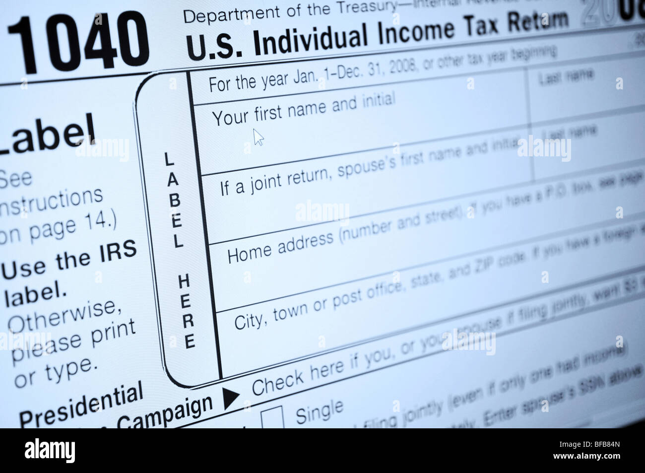 1040 Income Tax Forms Stock Photos 1040 Income Tax Forms Stock