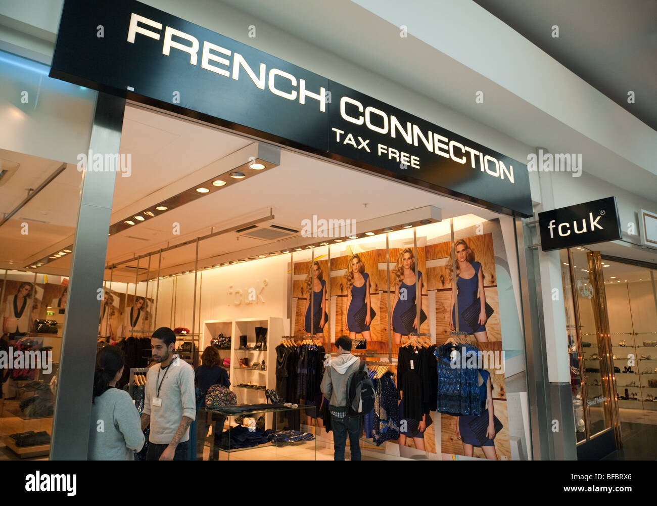 7a461d6b02b French Connection UK store, fcuk, Terminal one, Heathrow airport, London UK