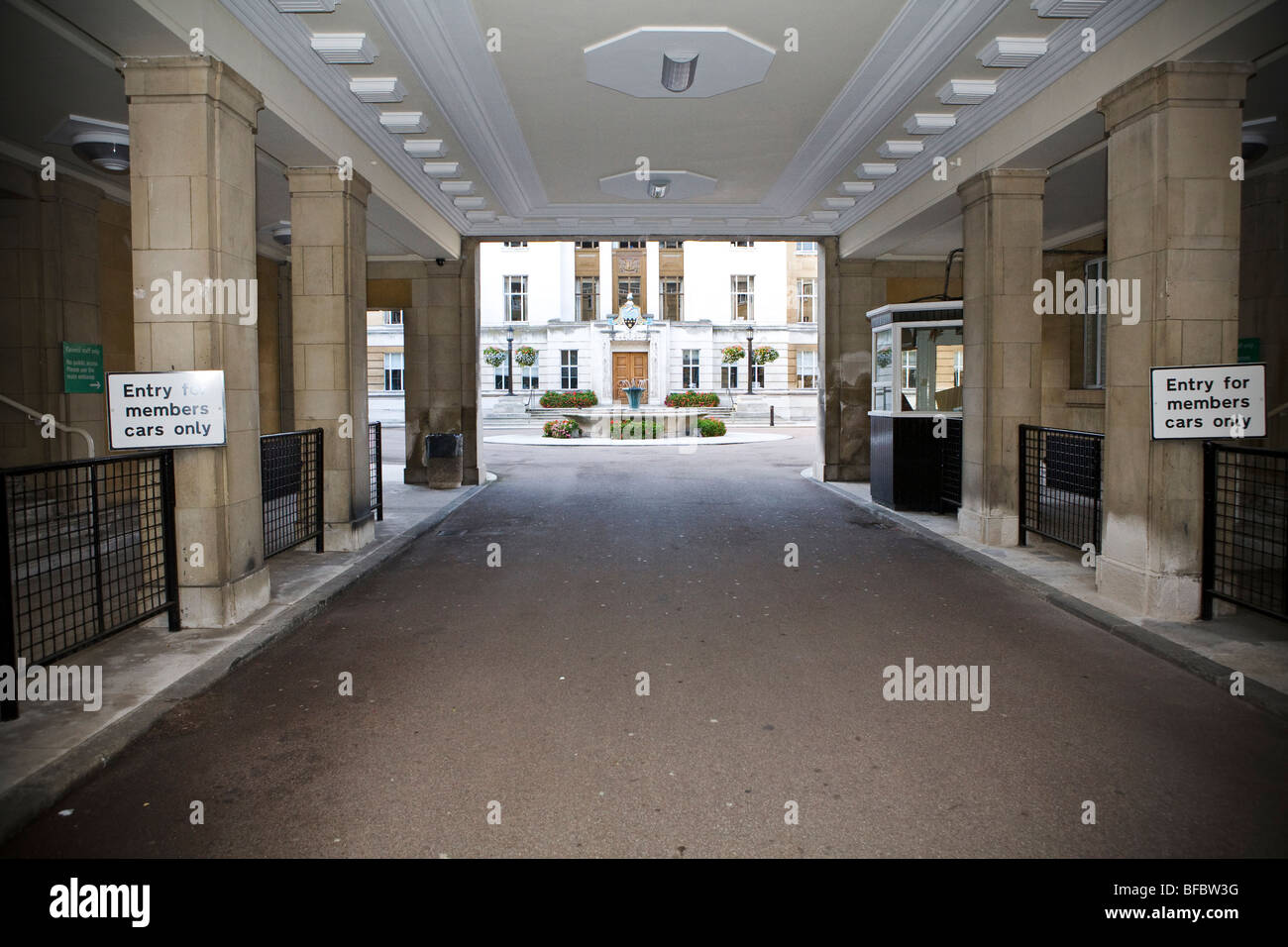 Wandsworth registry office - Stock Image