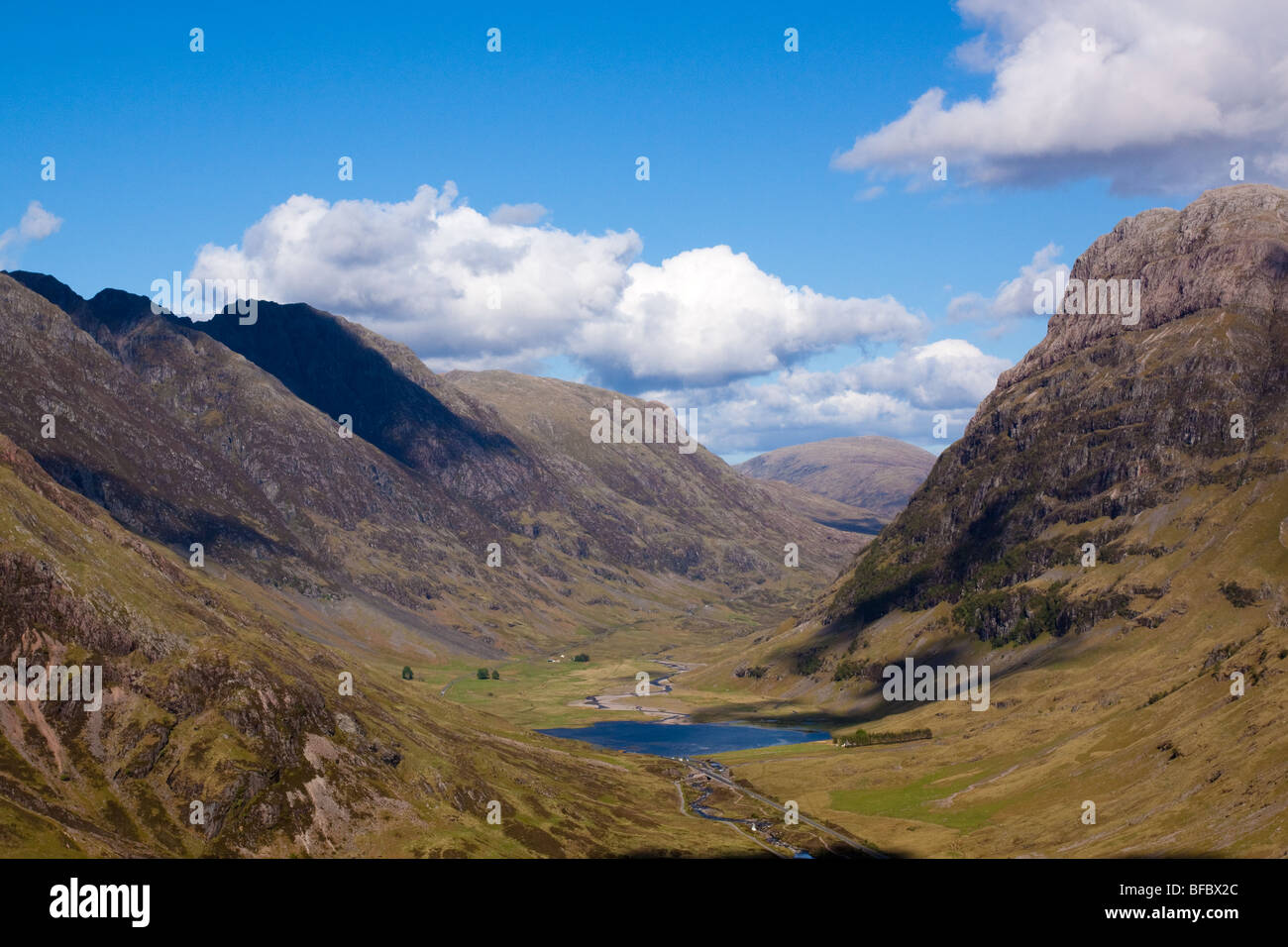 Glen Coe, Scottish Highlands Stock Photo