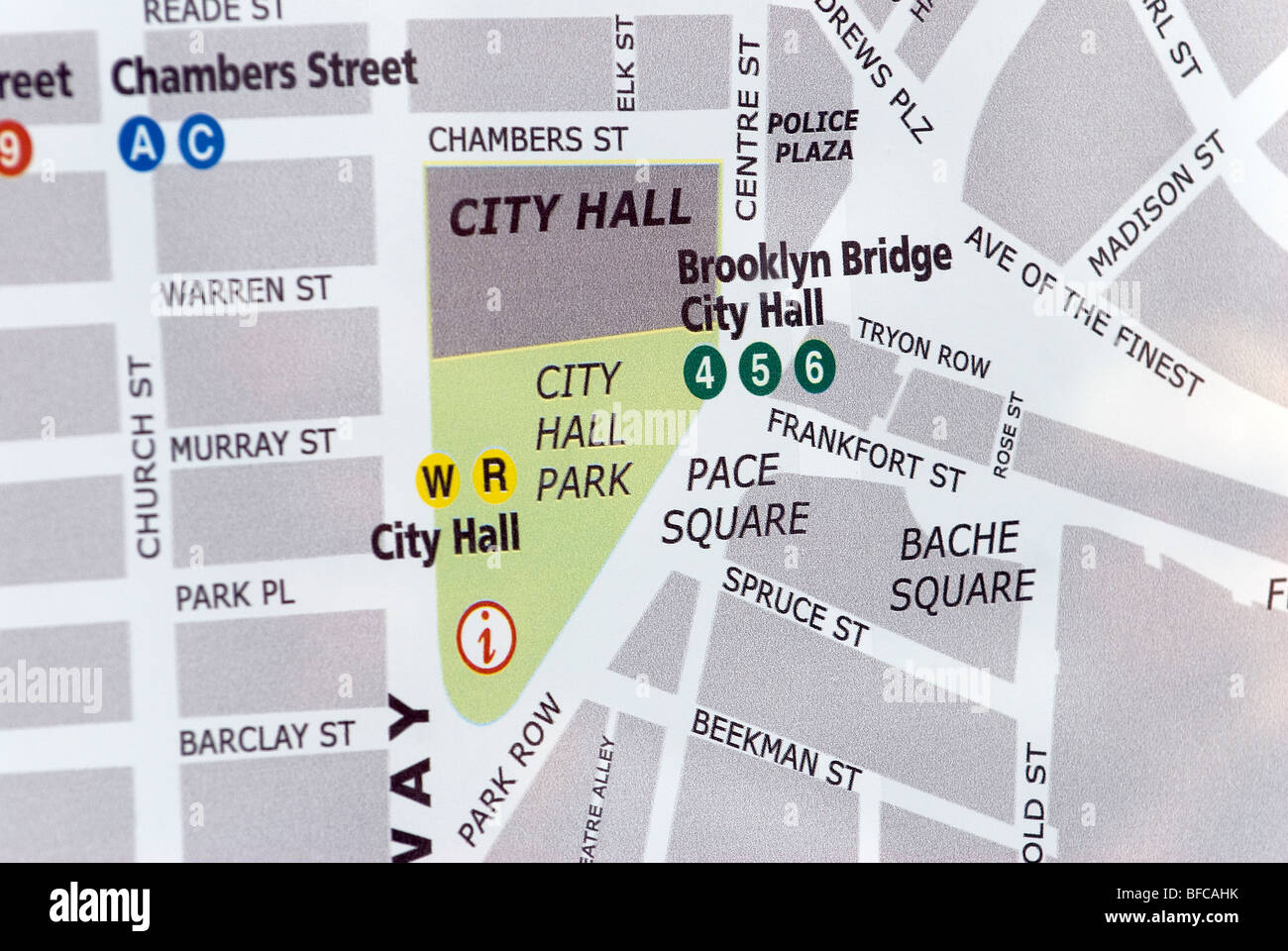 china town canal street neighborhood and tourist map new york city stock