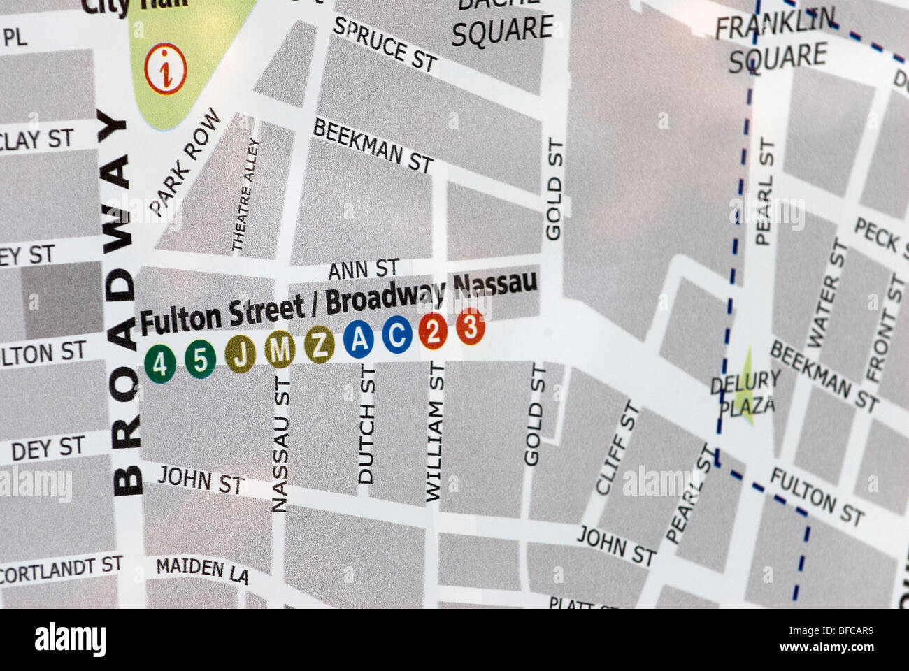 China Town, C Street, Neighborhood and Tourist Map, New York ... on