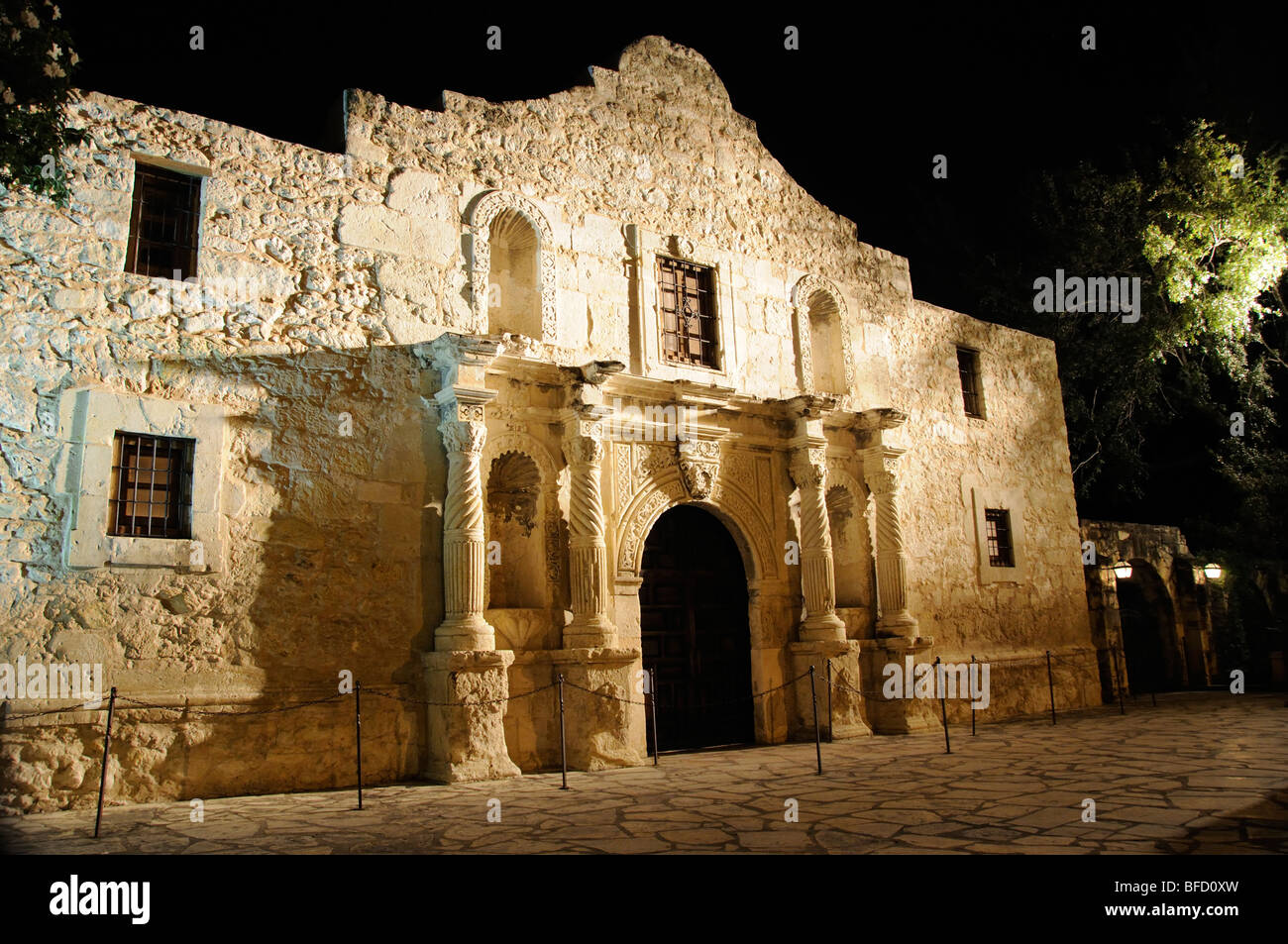 The Alamo, San Antonio, Texas - Stock Image