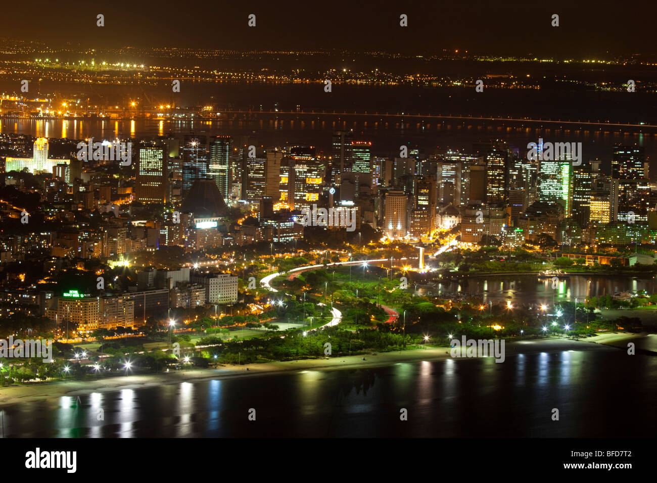 Centro Rio de Janeiro - Stock Image