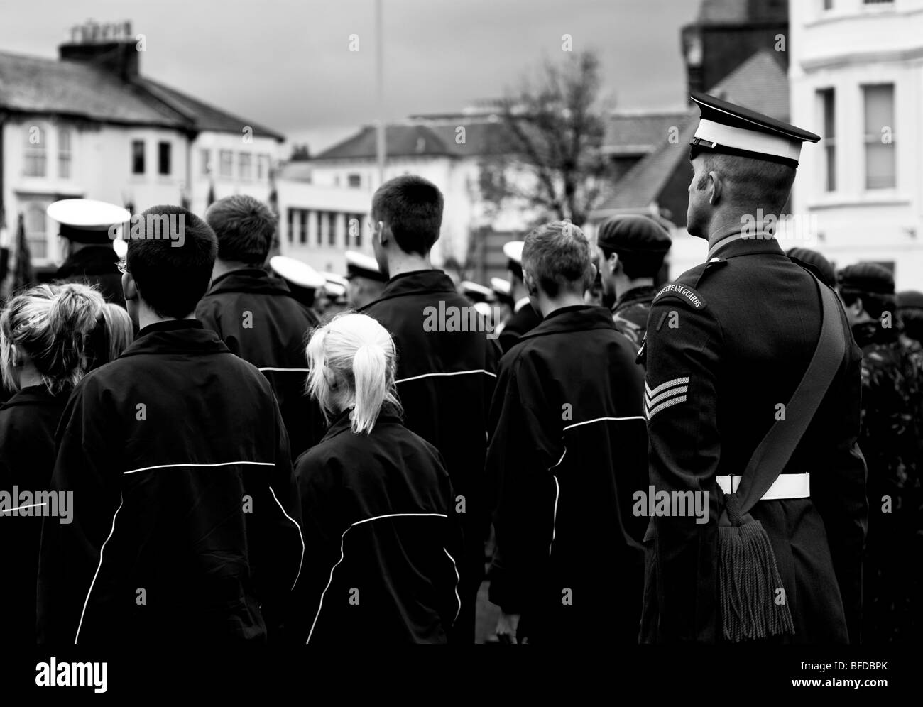 Remembrance Sunday 2009 Eastbourne - Stock Image