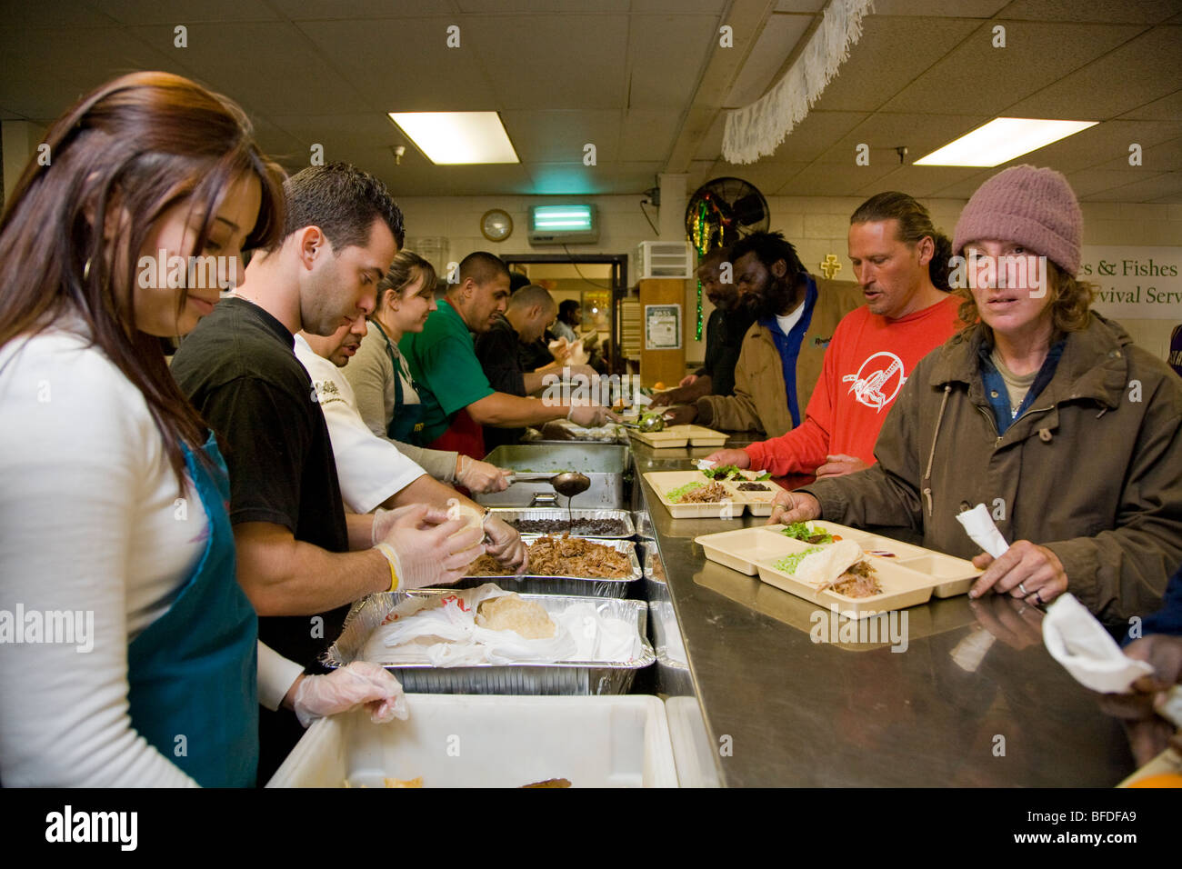 Soup Kitchen Volunteer Ri