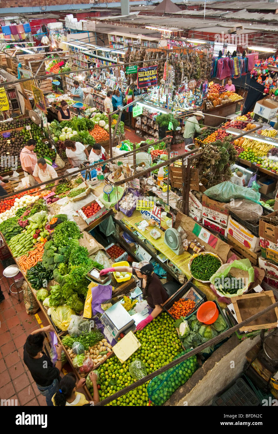 Mercado Libertad, Guadalajara, Mexico. - Stock Image