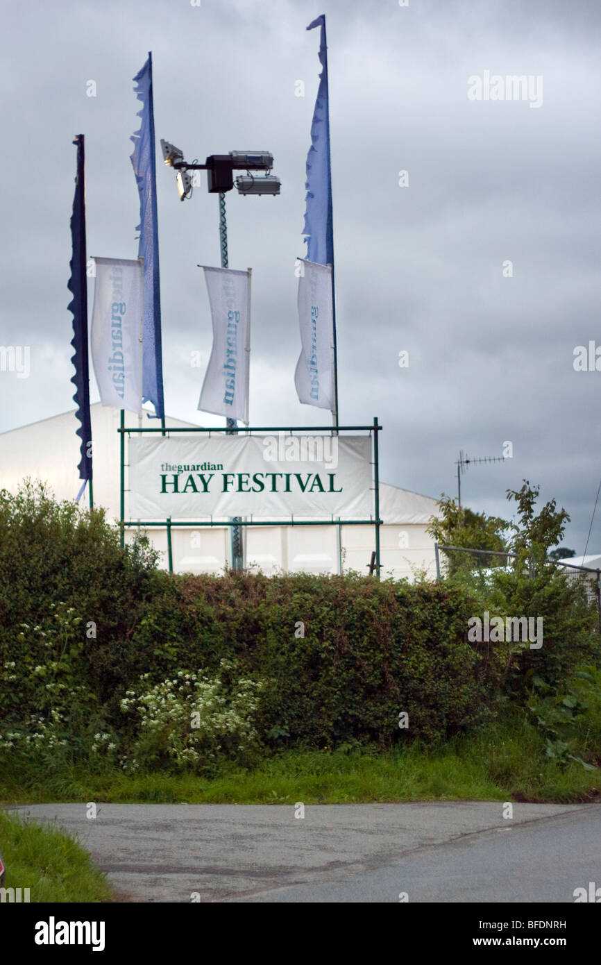 Hay Festival - Stock Image