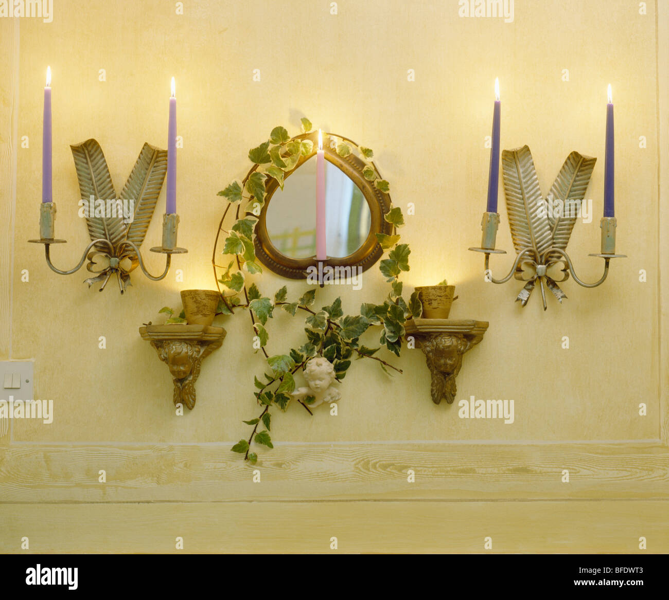 Wall Sconces Stock Photos & Wall Sconces Stock Images - Alamy
