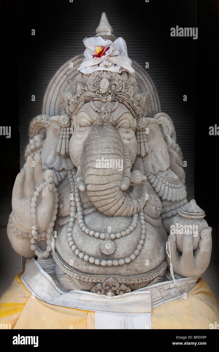 Ganesha Hindu Elephant Deity - Stock Image