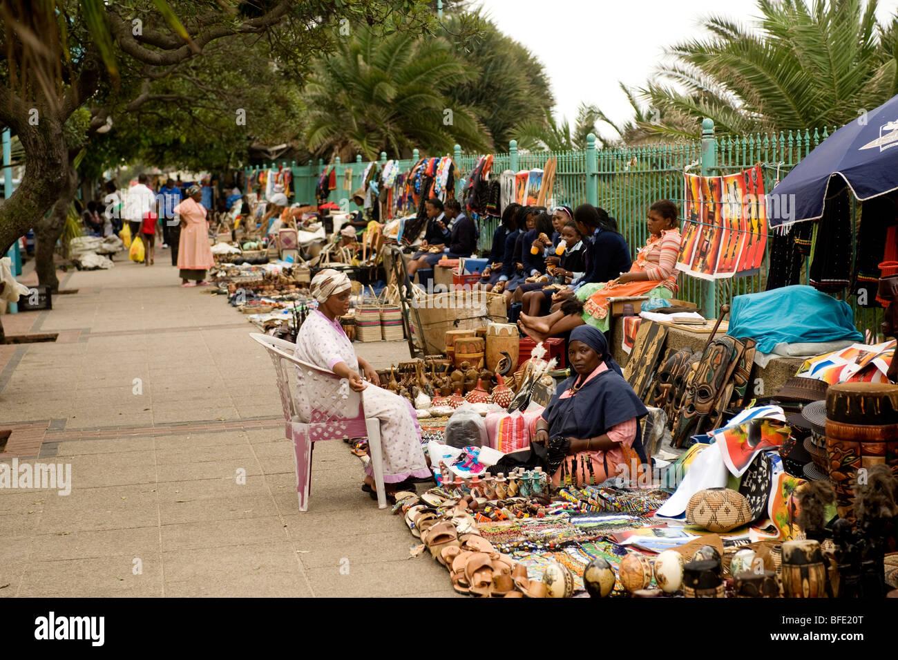 Durban Beachfront African Street Market Durban South