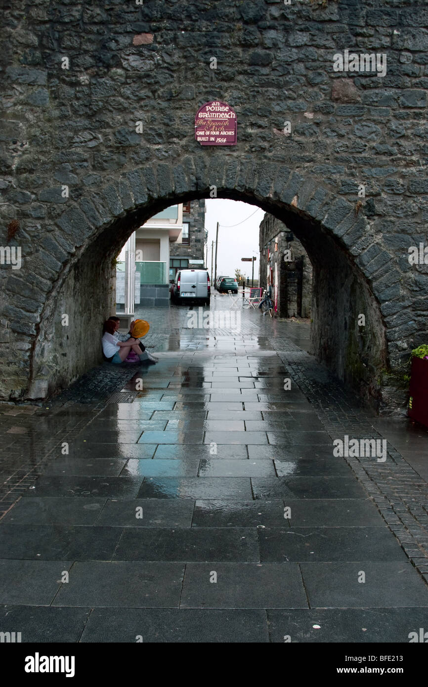 Spanish Arch, Galway City, Ireland - Stock Image