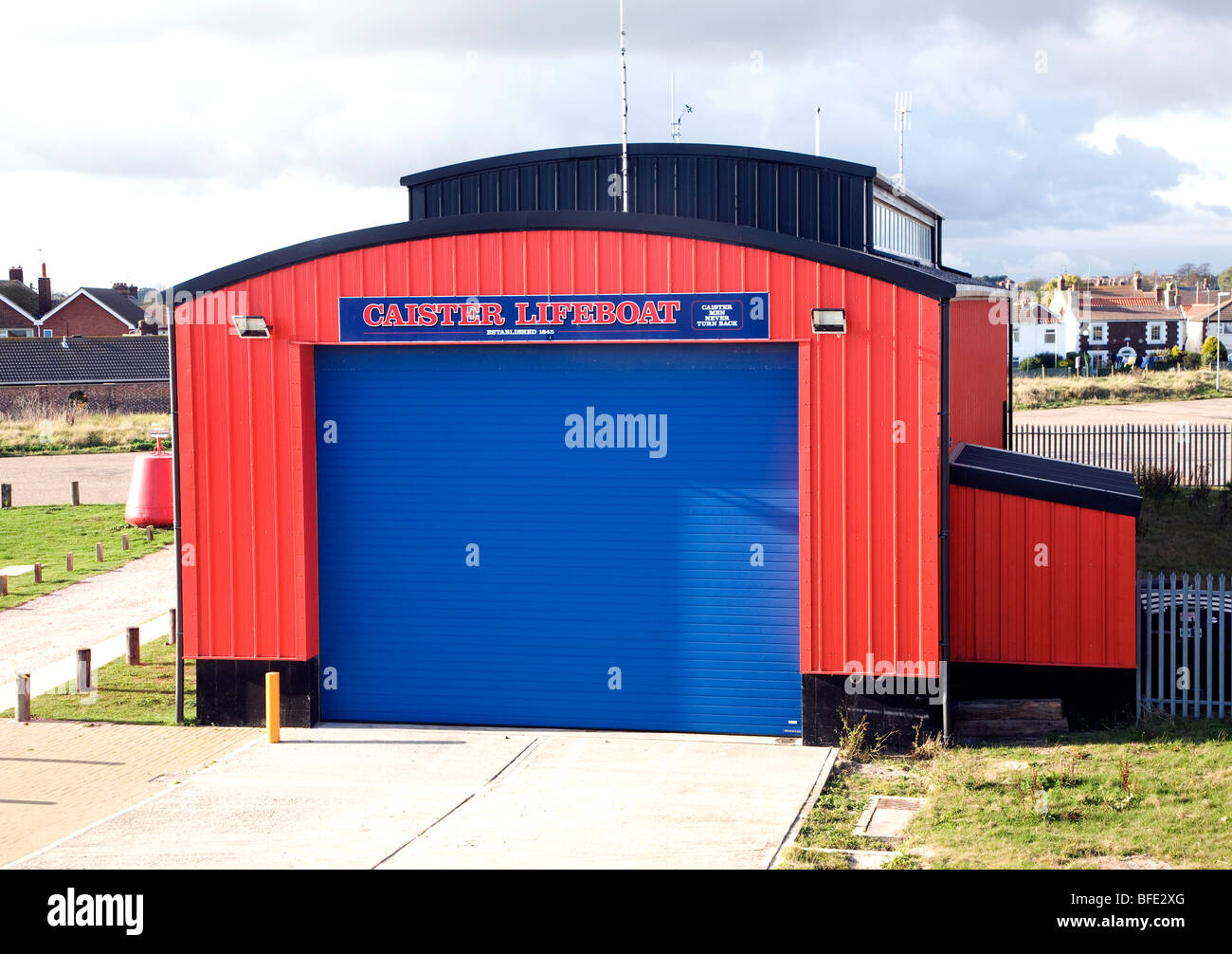 Caister lifeboat station, Caister, Norfolk, England Stock Photo