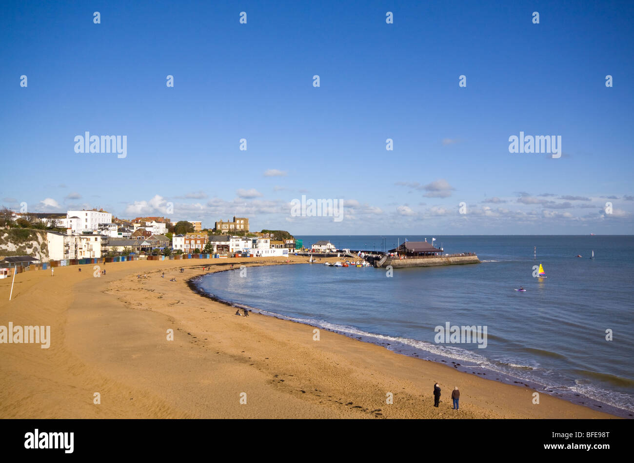 Broadstairs Thanet Kent - Stock Image