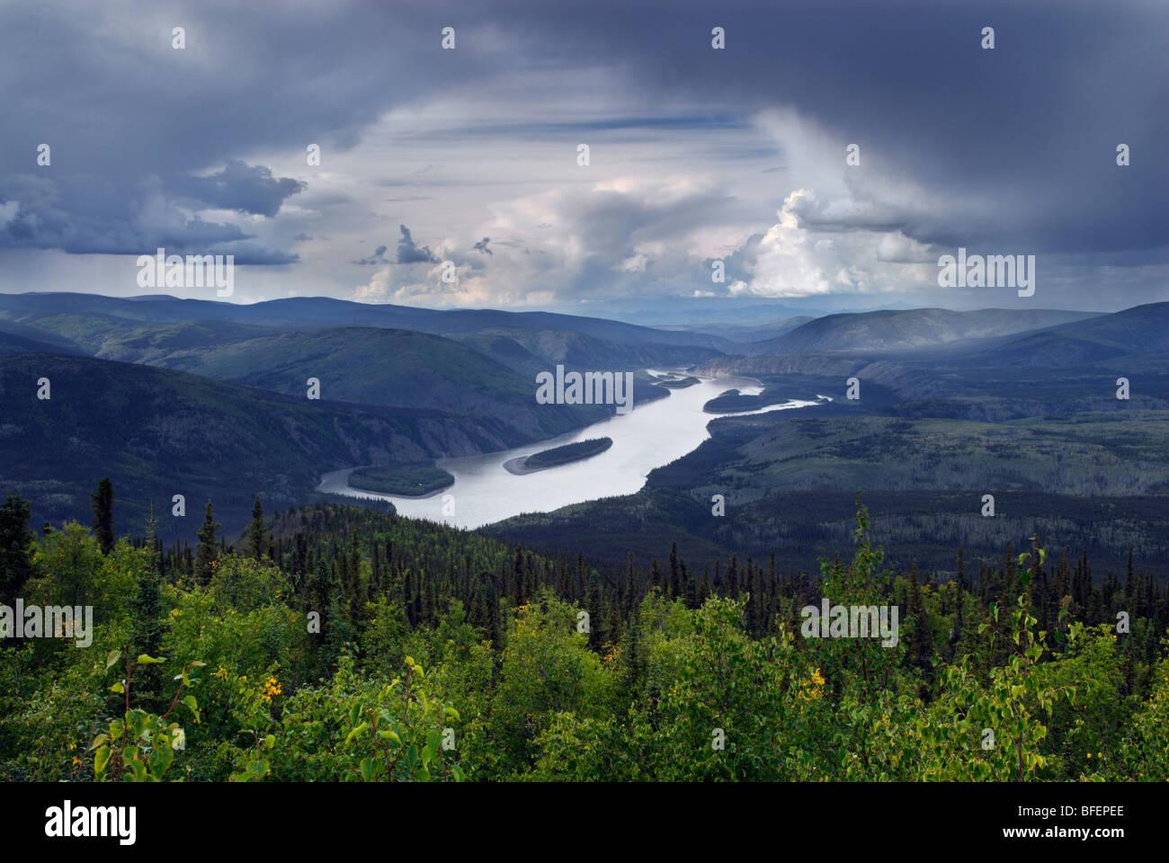 Klondike River, Dawson City, Yukon Territory, Canada - Stock Image