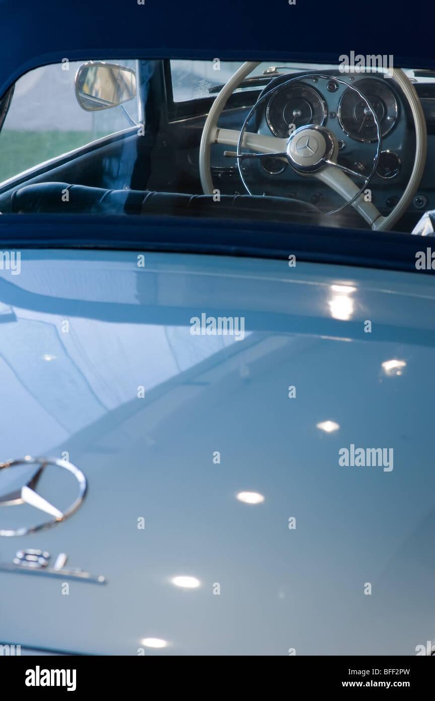Classic Mercedes Benz 190 SL car - Stock Image
