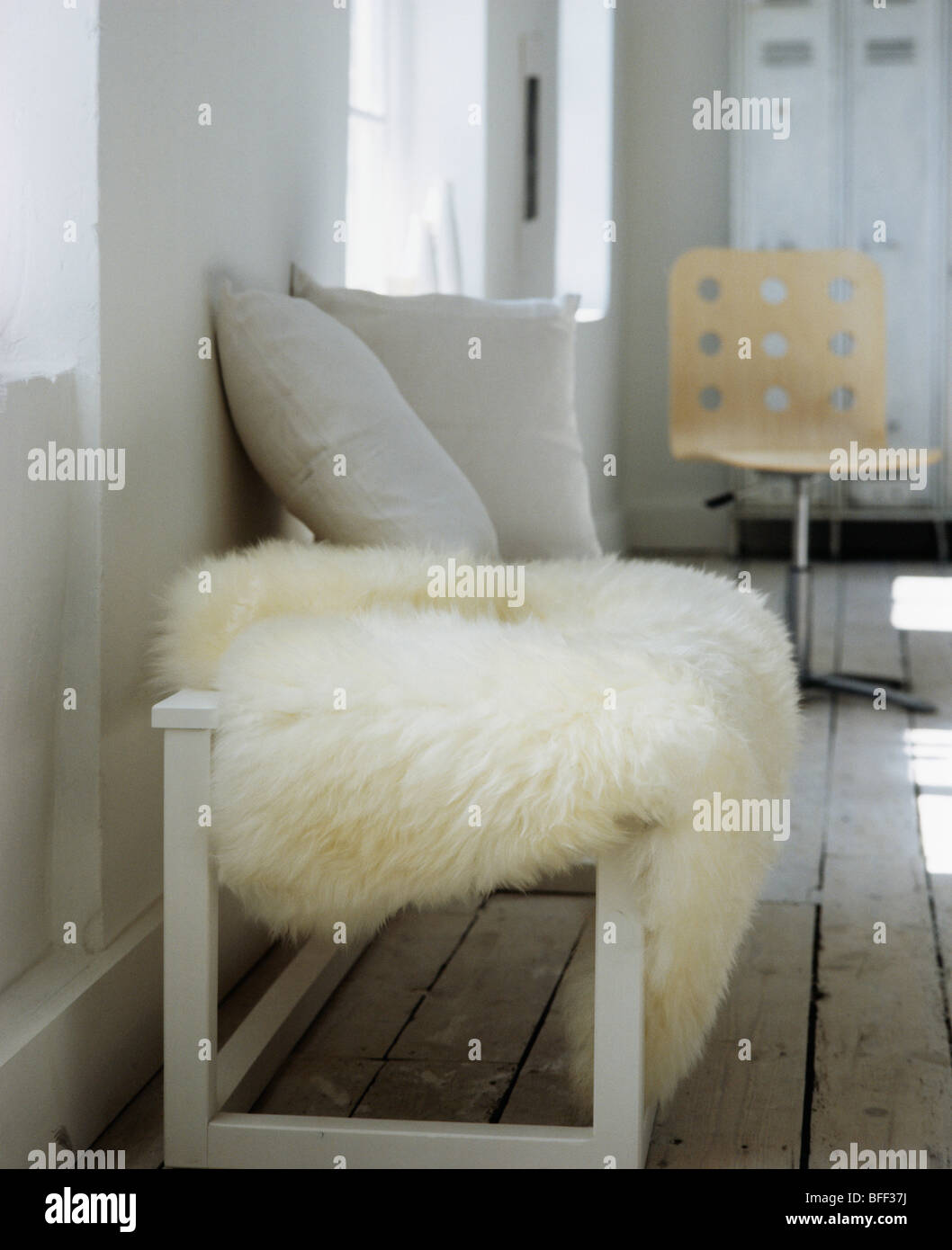crate hei wid barrel bed fur hero throw sheepskin bench ivory product and web reviews