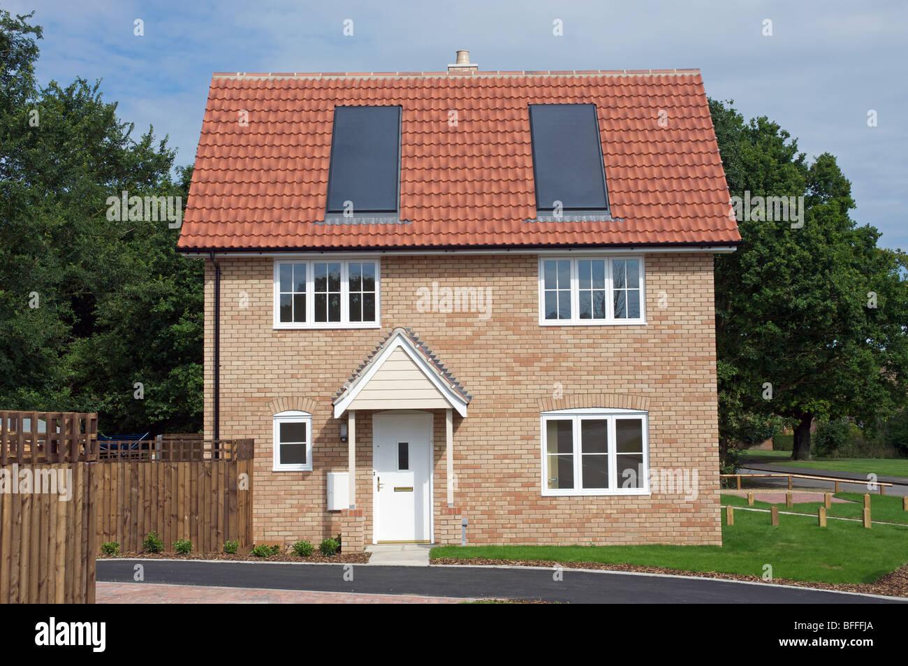 Newly Built House Stock Photos Amp Newly Built House Stock