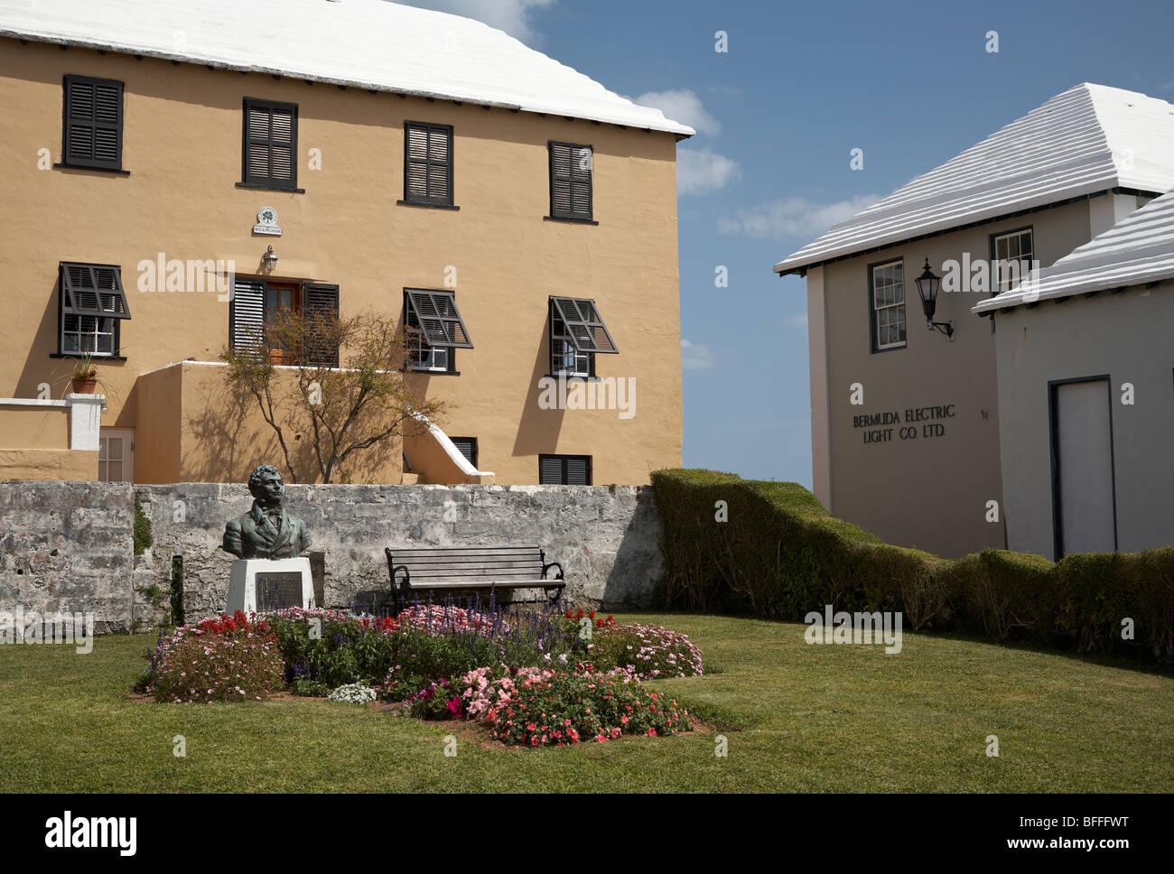 Town of St George, Bermuda - Stock Image