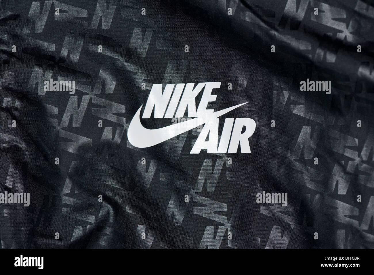 Nike Windrunner Nike Tick Air Logo On Front Of Mens Rain Jacket In