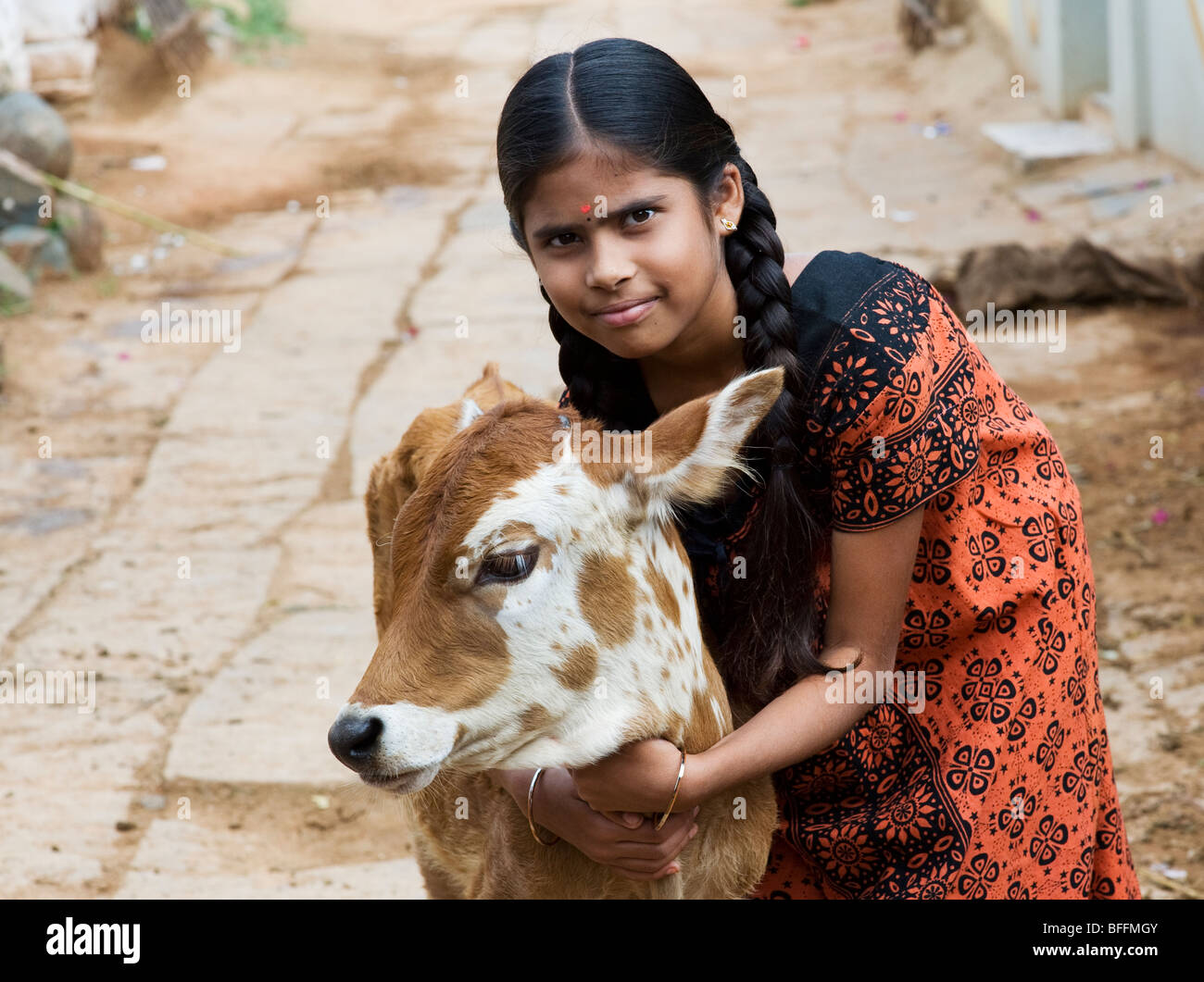 indian village girl stock photos & indian village girl stock images