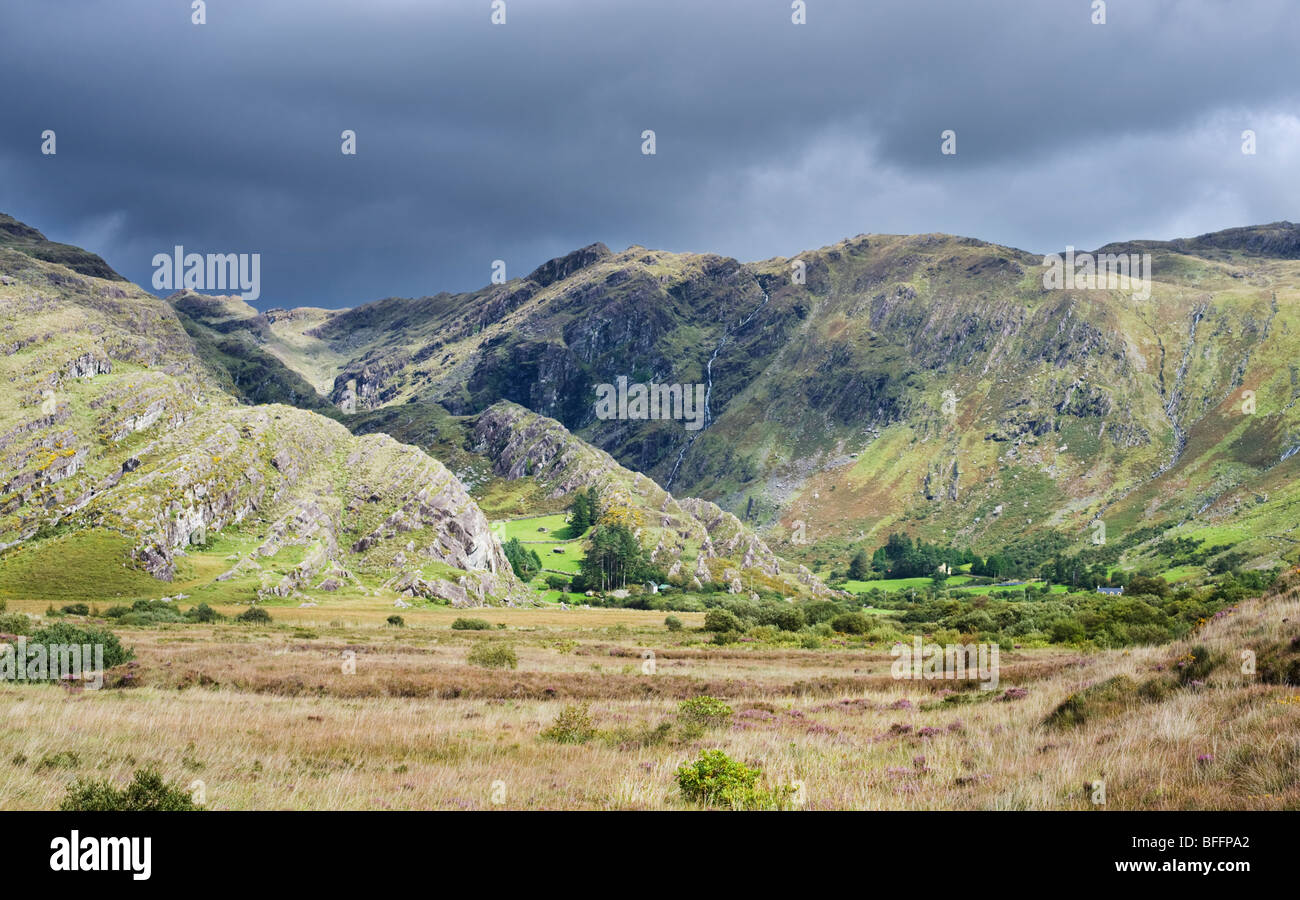 The Caha Mountains, Adrigole, Beara, County Cork, Ireland - Stock Image