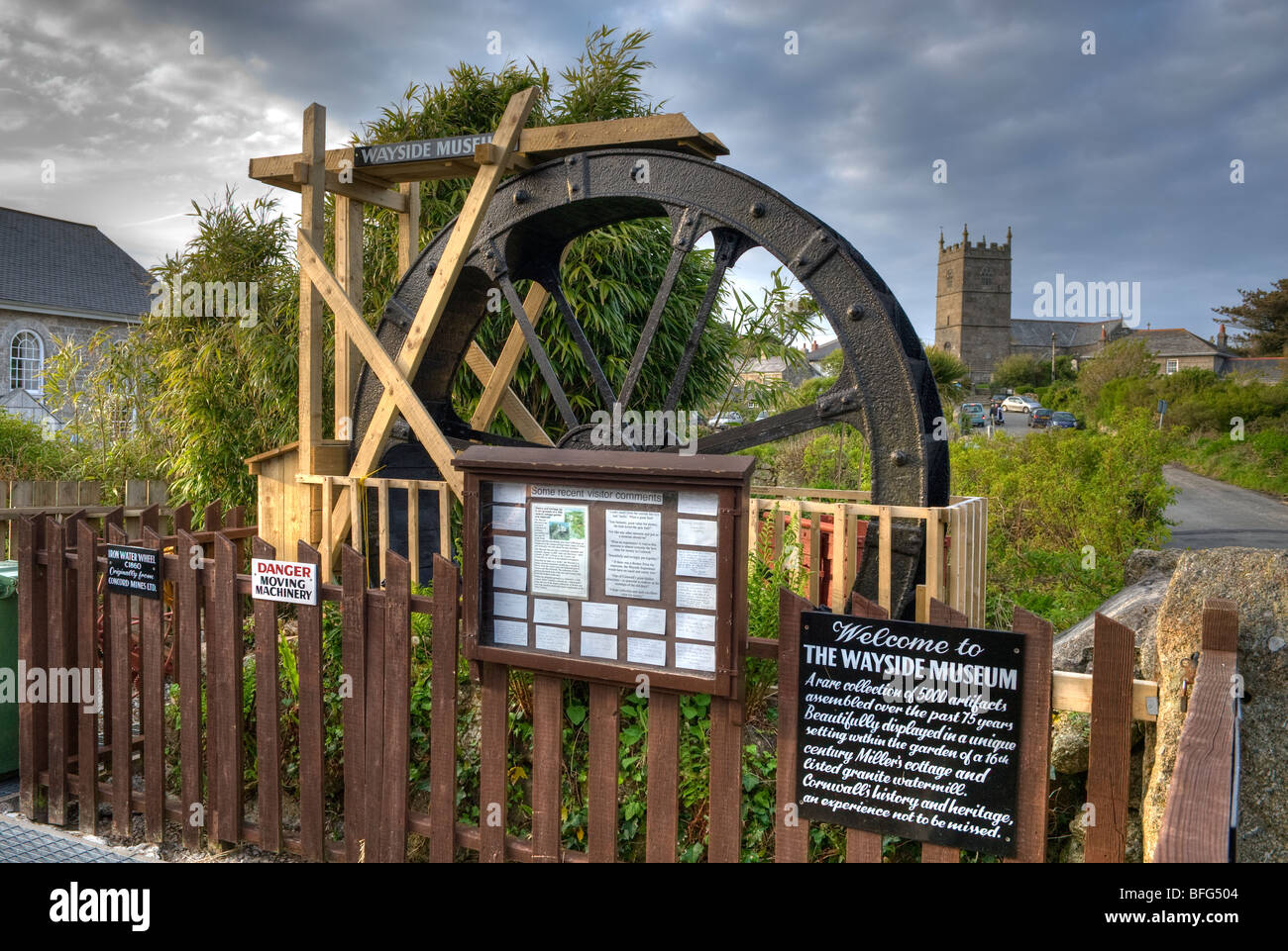 """The Wayside Museum at Zennor in Cornwall,England,""""Great Britain"""",""""United Kingdom"""",GB,UK,EU Stock Photo"""