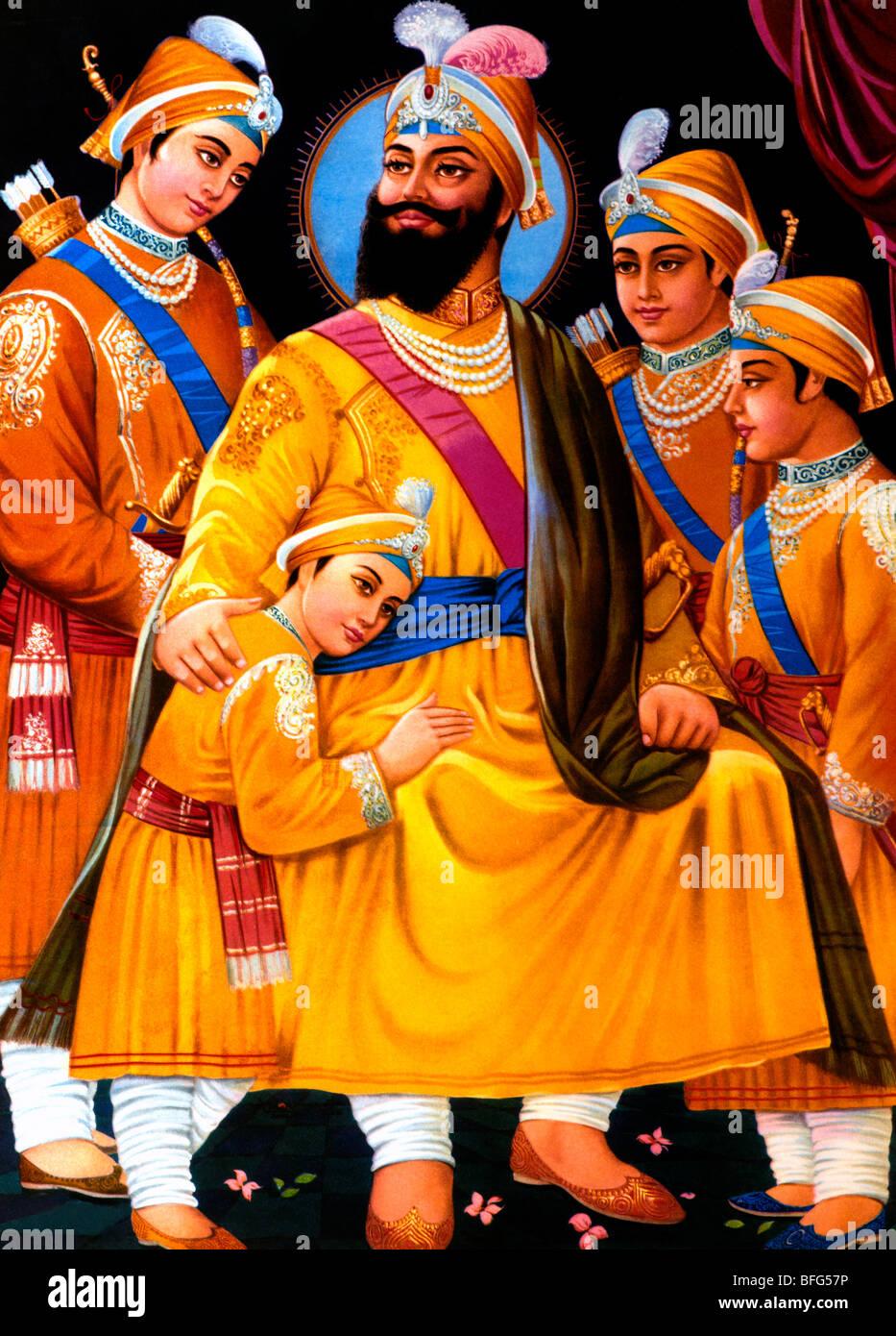 Guru Gobind Singh Stock Photos Guru Gobind Singh Stock Images Alamy