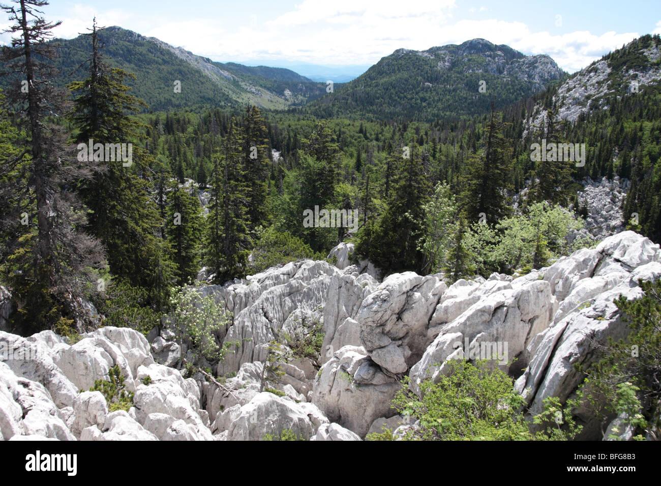 Sjeverni Velebit National Park Stock Photo