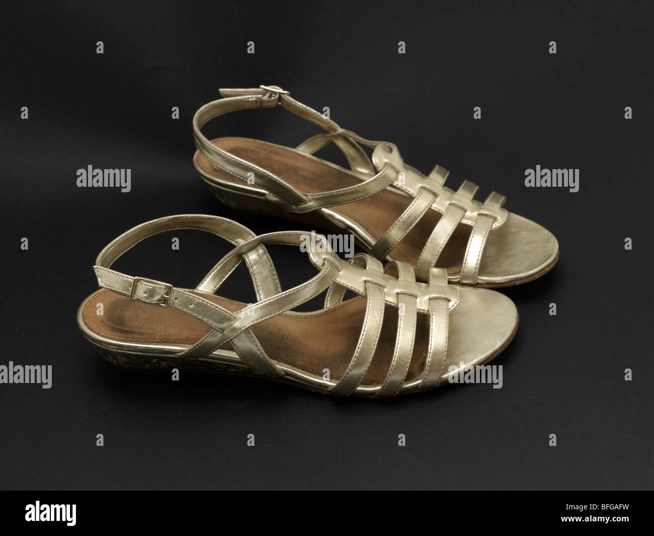 Gold Sandals for an 11 year old girl