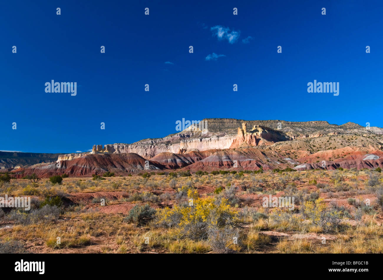 Ghost Ranch New Mexico Southwest USA - Stock Image