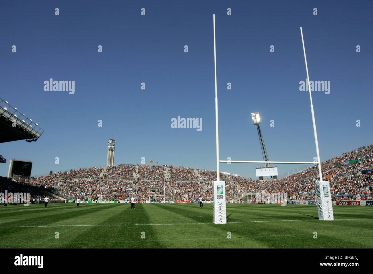The Stade Velodrome stadium in Marseille, France - Stock Image