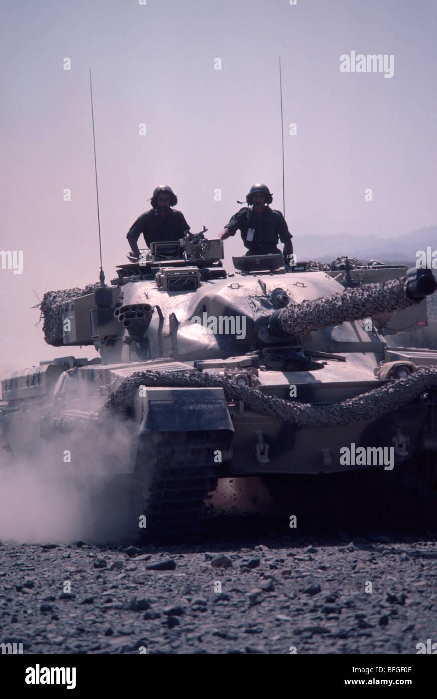 Chieftain tank - Stock Image