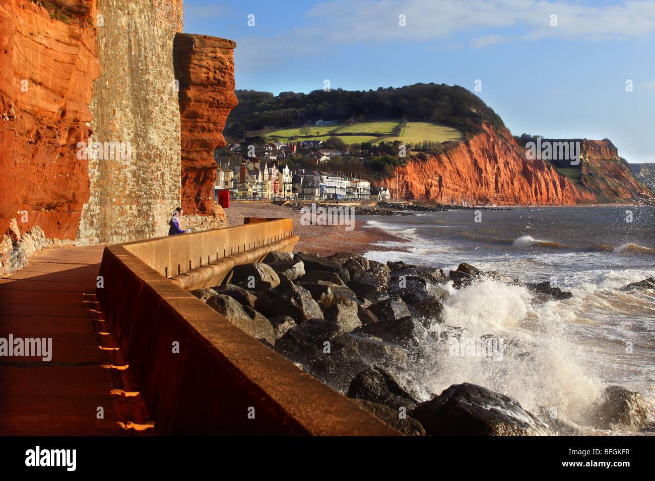 Sidmouth, Devon, England. - Stock Image