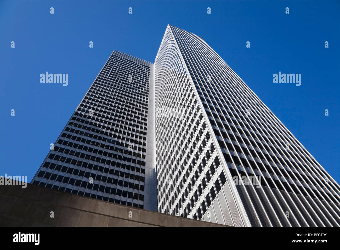 Place Ville-Marie building, Montreal, Quebec, Canada Stock Photo