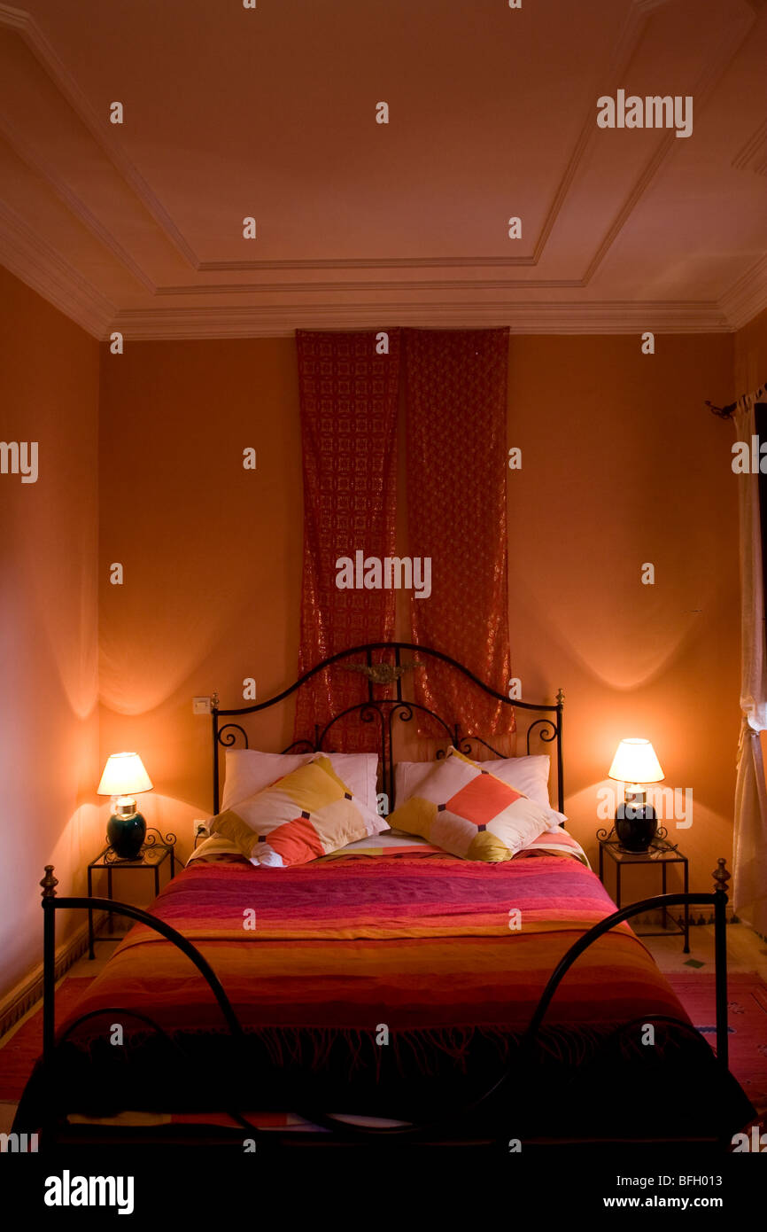 Sensational A Bedroom In A Riad In Marrakesh Morocco Stock Photo Download Free Architecture Designs Scobabritishbridgeorg