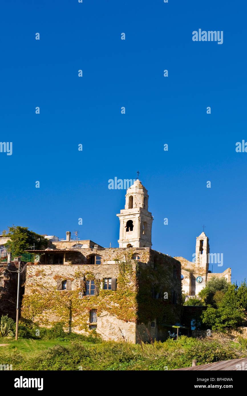 Bussana Vecchia, Imperia province, Italy - Stock Image