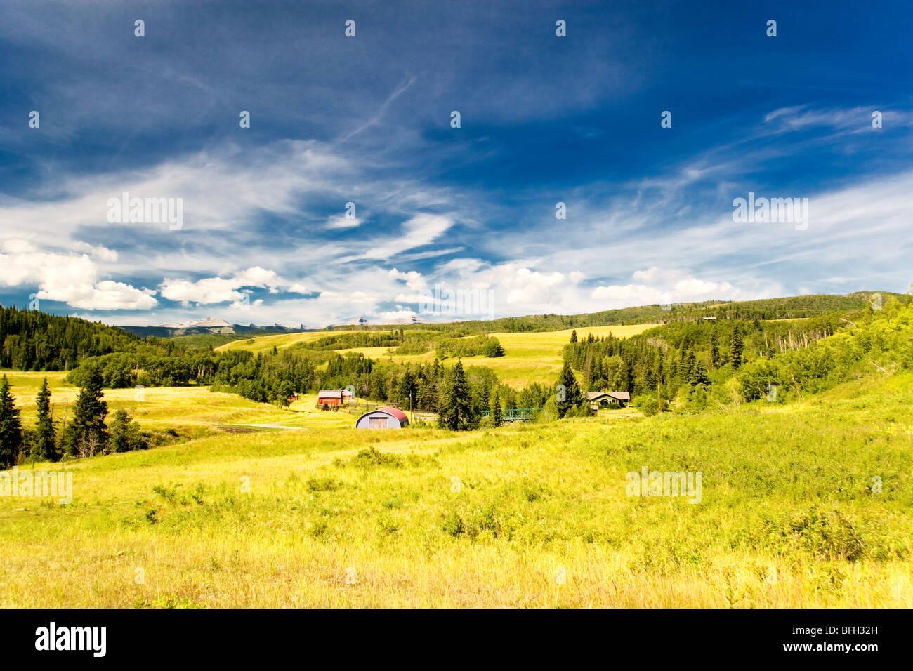 Longview, Alberta, Canada - Stock Image
