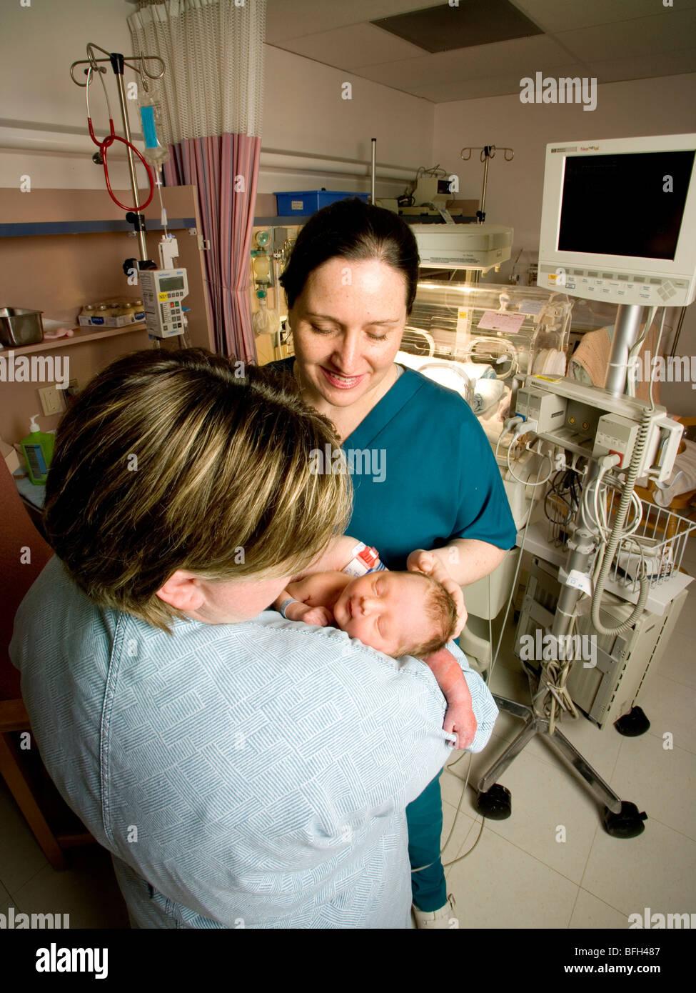 Queen Elizabeth Hospital, Charlottetown Prince Edward Island - Stock Image