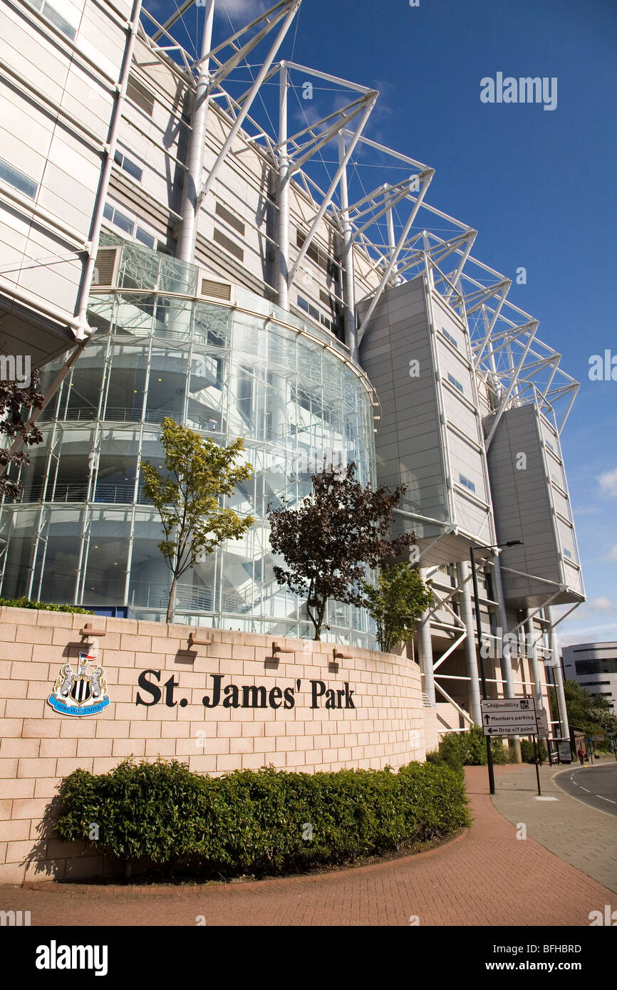 Home of newcastle united stock photos home of newcastle for Newcastle home