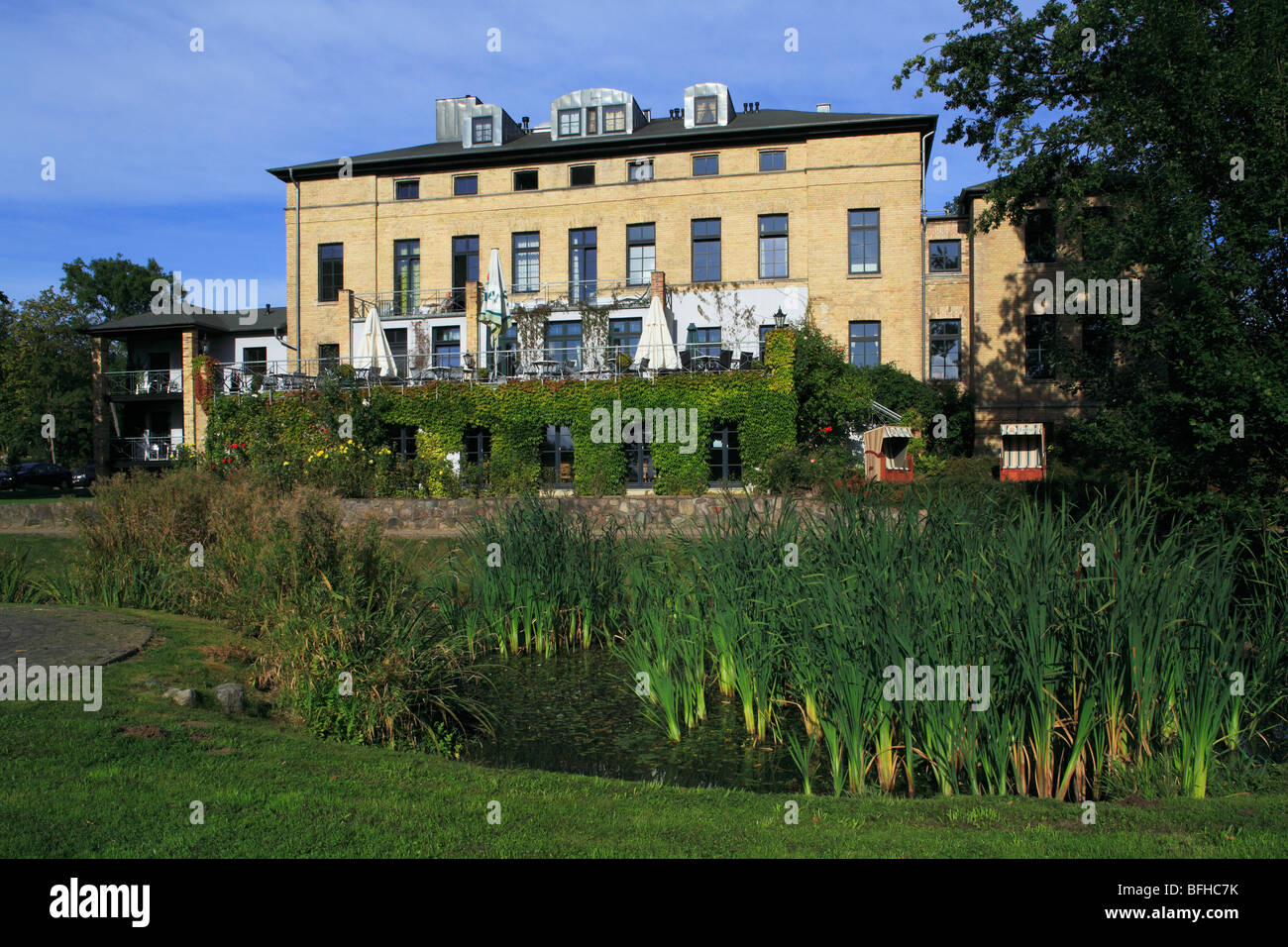 Gut Redewisch, Hotel und Restaurant in Boltenhagen-Redewisch, Seebad, Kluetzer Winkel, Ostsee, Nordwestmecklenburg, - Stock Image