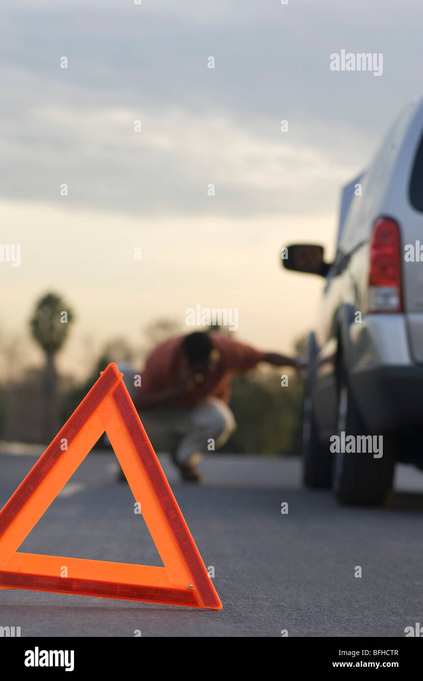 Broken Down Abandoned Stock Photos Broken Down Abandoned: Broken Down Car And Man Stock Photos & Broken Down Car And