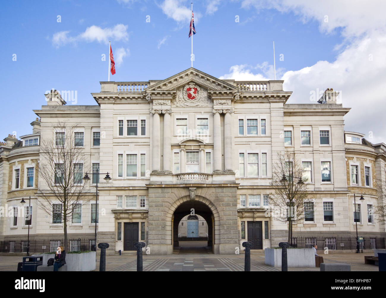 County Hall Maidstone Kent - Stock Image