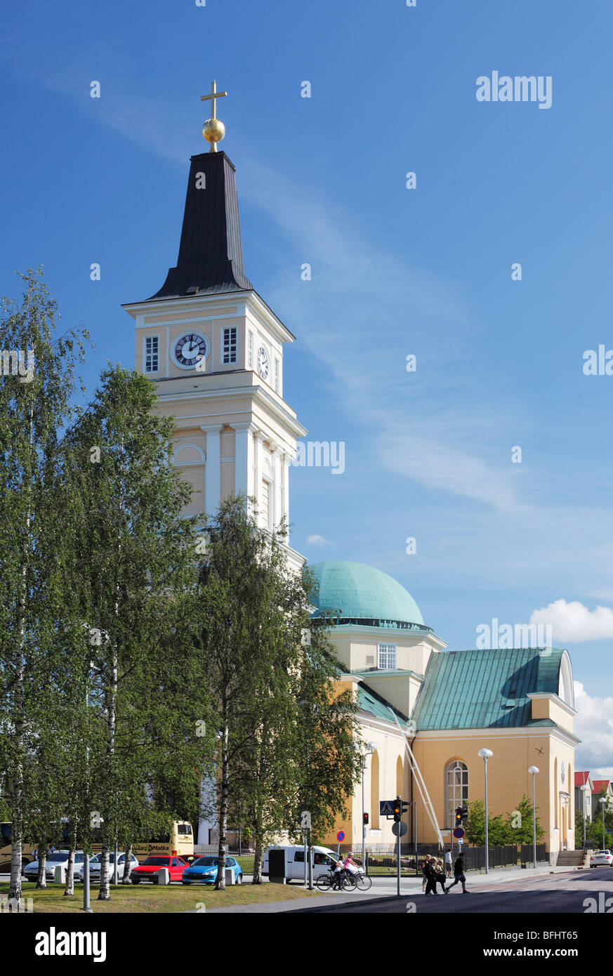 Cathedral in Oulu, Finland - Stock Image