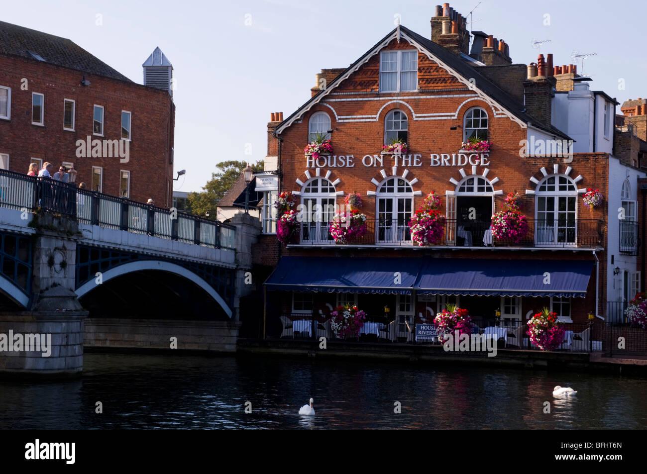 Europe, UK, england, berkshire, windsor pub 2009 - Stock Image
