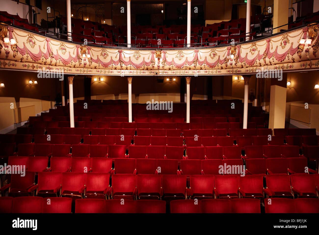Empty theatre - Stock Image